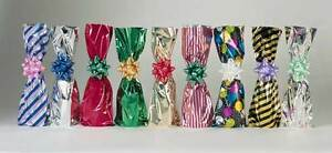 Details About Mylar Gift Bag For Wine Metalized Packed 100 Per Lot