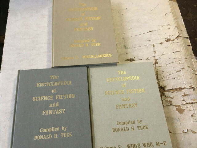 Encyclopedia of Science Fiction and Fantasy by Donald H. Tuck (1983, Hardcover)
