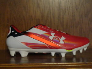 bdf27631977 New! Mens UNDER ARMOUR UA SPOTLIGHT LIMITED EDITION Football Cleats OHIO