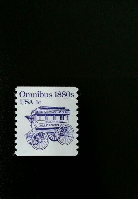1983 1c Omnibus, Coil Scott 1897 Mint F/VF NH