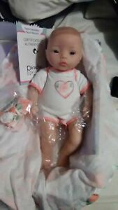 PEACH BLOSSOM Paradise Galleries Reborn Baby Doll SWADDLERS 16 inch