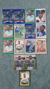 Details About Brian Mcrae Baseball Card Mixed Lot Approx 15 Cards