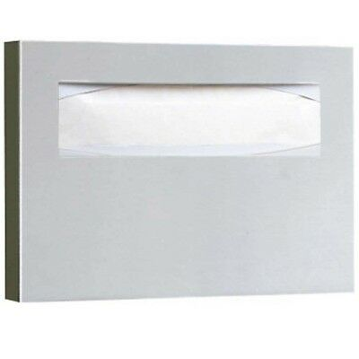 Bobrick B-301 Stainless Steel Recessed Toilet Seat-Cover Dispenser