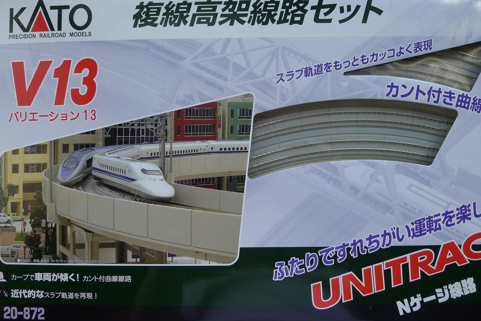 Kato N Scale 20-872 Unitrack variación Set V13