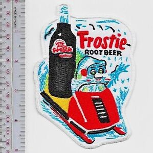 Vintage Snowmobile Mr Frostie Root Beer Soft Drink Advertizing  1970  /& 80 Promo