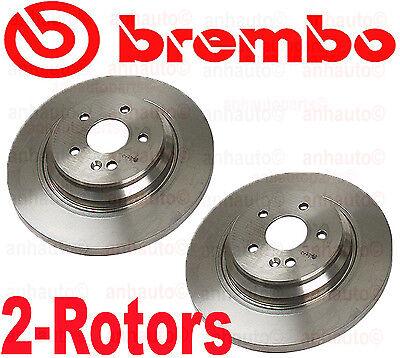 Pair Brembo Rear Brake Rotors Mercedes Benz ML  25528 1634230212