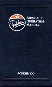 FOKKER-100-AIRCRAFT-OPERATION-MANUAL-AOM-1987