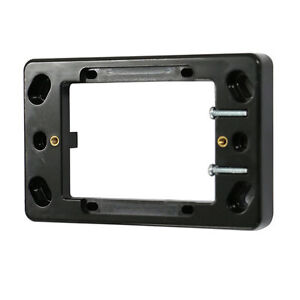 10-x-16mm-Shallow-Mounting-Block-Powerpoint-Switch-Mounting-BLACK