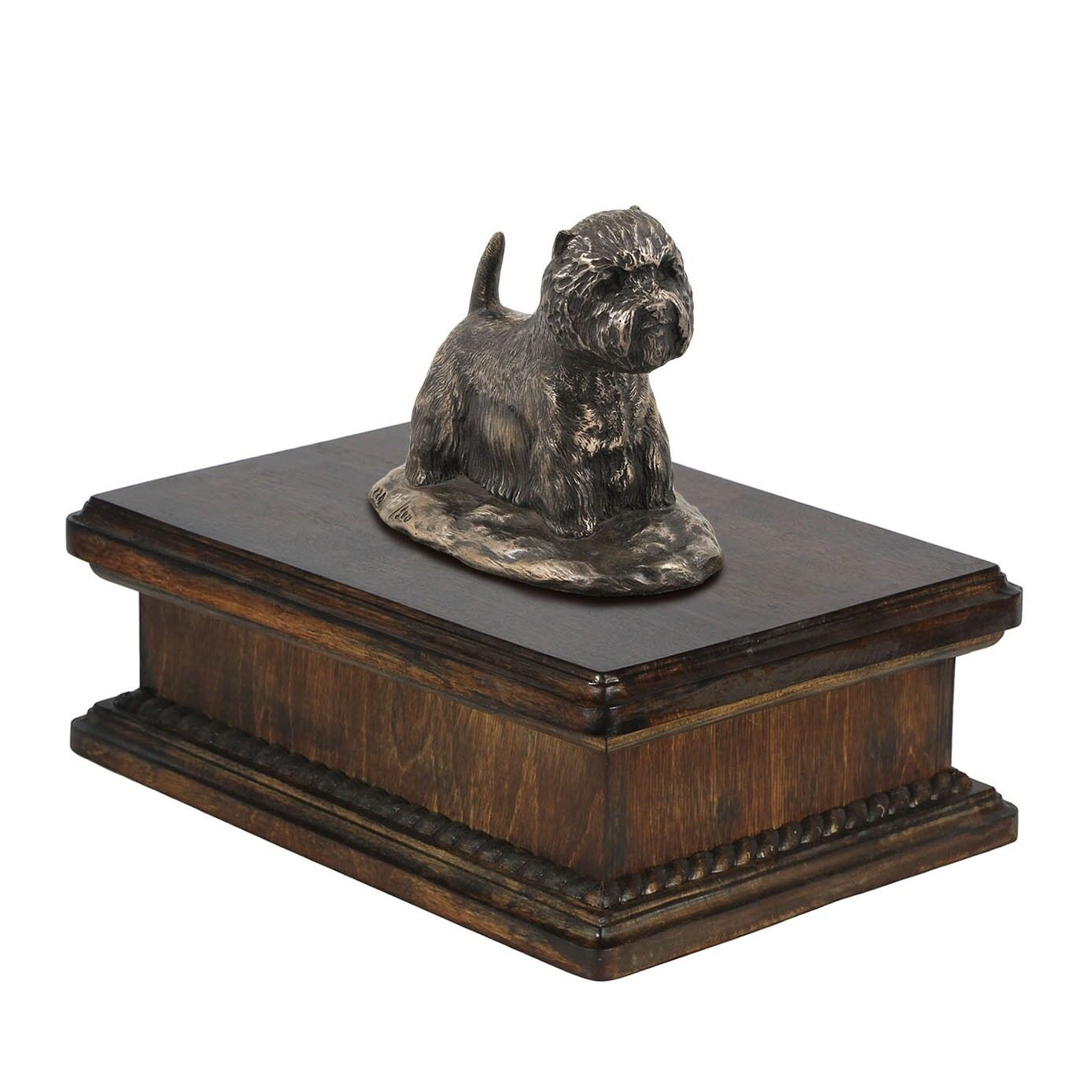 West Highland White Terrier  exclusive urn with dog statue, High Quality,ArtDog