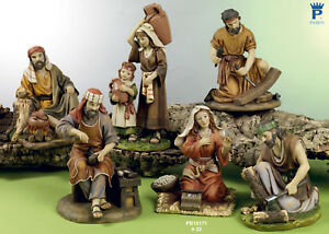 Set-6-personaggi-Presepe-22-cm-in-resina-by-Paben