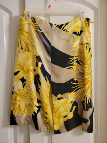 Vintage 1990's Gianni Versace Silk Skirt