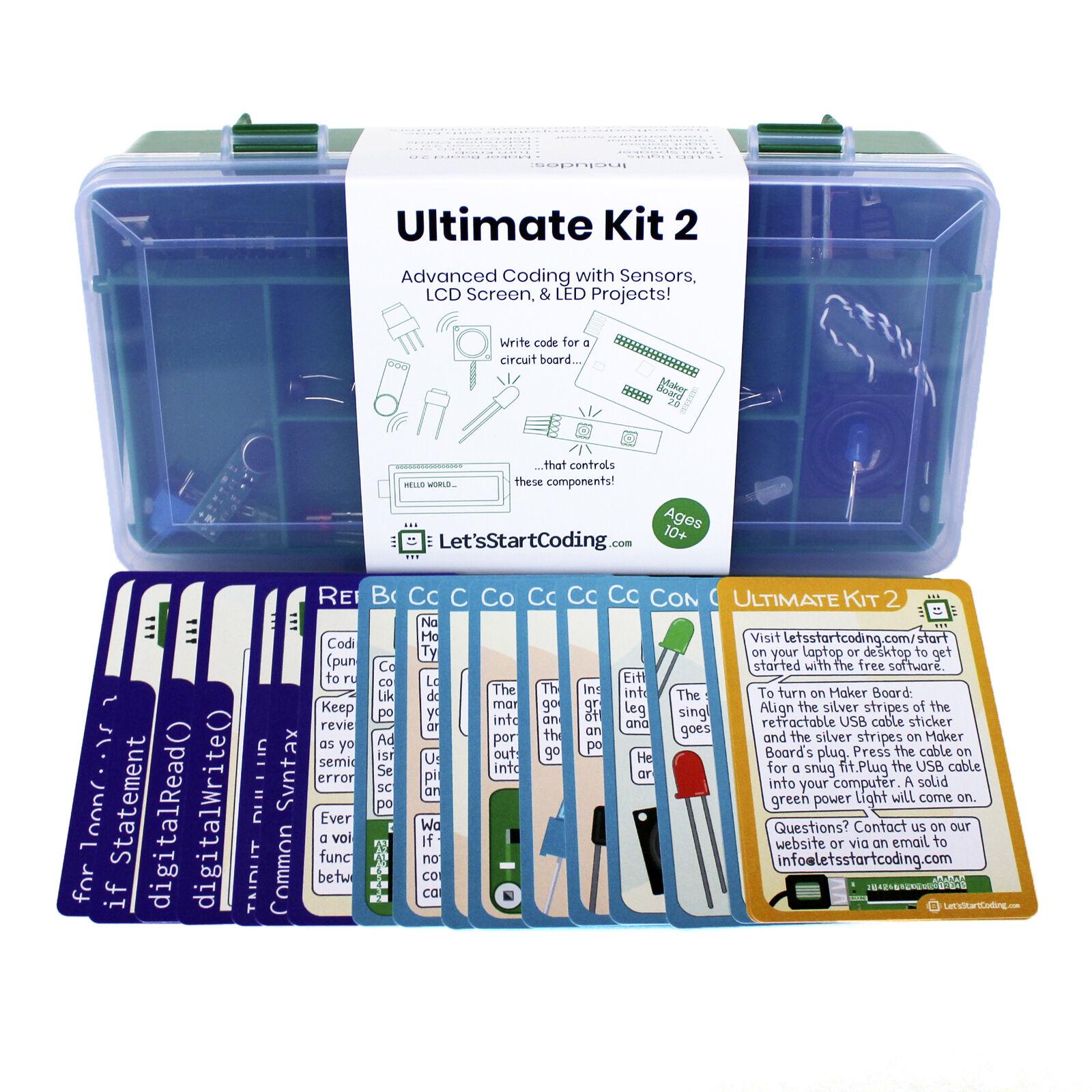 Ultimate Kit 2  codificación & Tallo Kit Para Boys & Girls 8-12 de vamos a empezar codificación