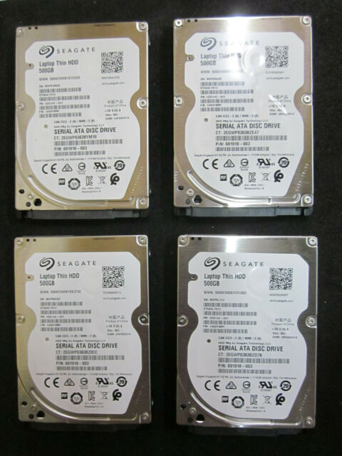 """Dell 0NJG52 Seagate ST500LT012 500GB 5.4k 2.5/"""" Laptop Thin HDD"""