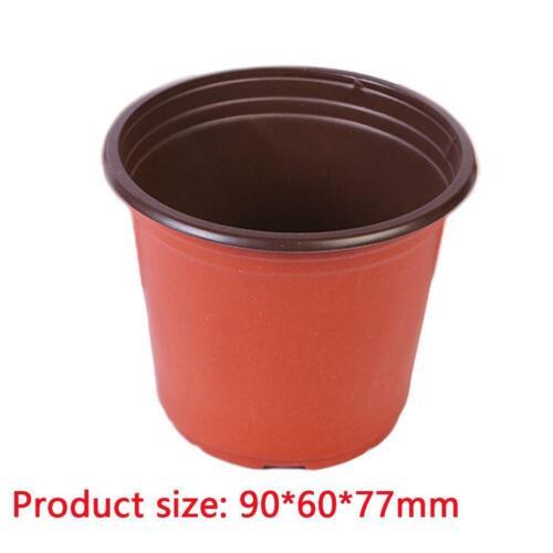 10//50pcs plastique Nursery pot double plante semis Titulaire Raising block pots n