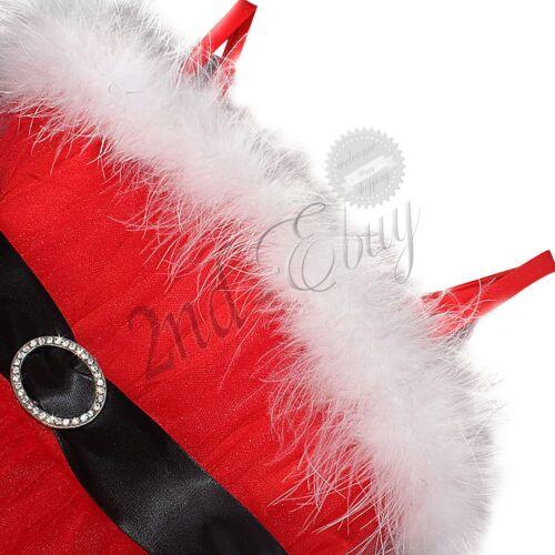 Christmas Santa Claus Costume Toddler Baby Girls Boys Romper Outfits Tutu Dress