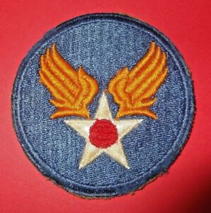 Details about Military USAAF WWII US Army Air Force Corps GHQ Full Color  Insignia Unit #807