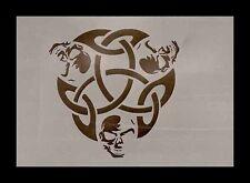Airbrush Schablone A086 Tribal 9