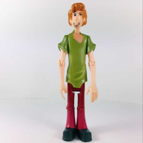 2X SCOOBY-DOO Classic Shaggy /& Shaggy Dog Action Figures Movies Toys Gift Rare