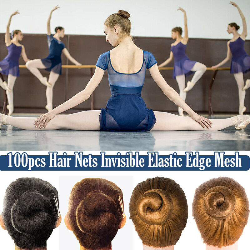 Dance//Ballet//Gym various colours NEW pack x3 Girls Ladies/' Hair Nets Bun Nets