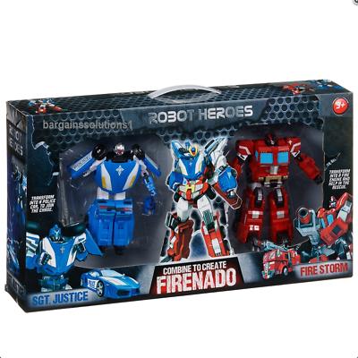 Police & Fire Robot Heroes Firenado Ideal Gift For Your Kids / Childrens Reisen