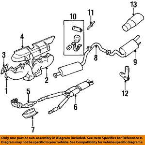 jaguar oem 84 92 xjs exhaust manifold manifold gasket ebc10199 ebay rh ebay com Jaguar XJ6 Exhaust LHT Exhaust Manifold B-Series