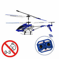 3ch Helikopter Gyro Aluminium Heli Ferngesteuert Hubschrauber Mit Led-licht