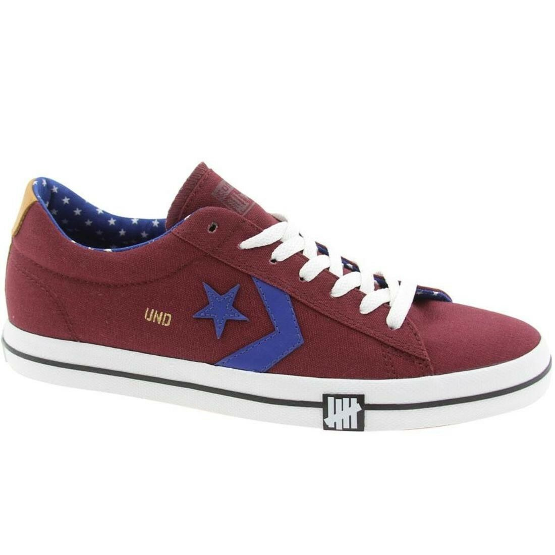 Converse x Undefeated UNDFTD Homme Pro Vulc Ox Leather All Star limited edition