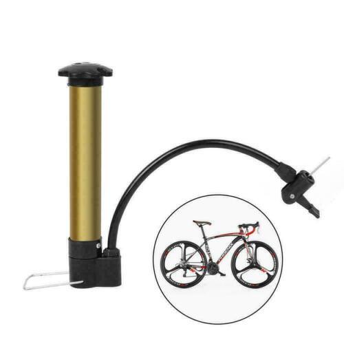 Mini Portable Bicycle Cycling Air Pump Bike Sports Ball Pump N5J2 Needle V2H8