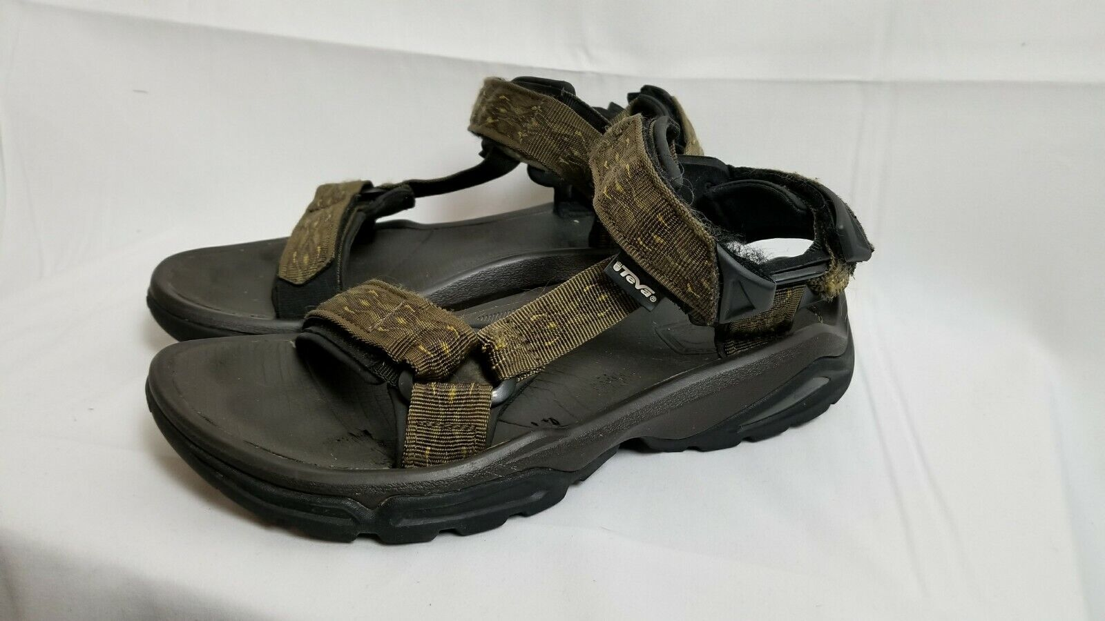 TEVA Shocpad Mens US 8 Sport Sandals Hiking Trail River ShocPad S N 1004485