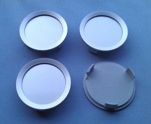4x tapacubos embellecedores tapa llantas 74,5 mm 69,0 mm plata para merceded aa01