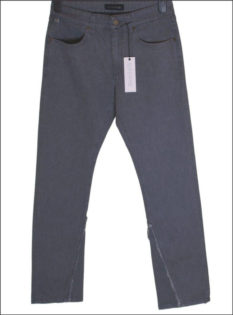 BNWT Herren Superfine Stretch Gerade Gerade Gerade Jeans W32 L34  | Ruf zuerst  7ee31f