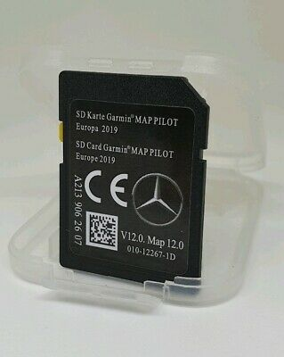 SD card MERCEDES GARMIN MAP PILOT STAR2 v12 Europe 2019 A2139062607
