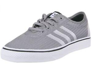 Details about Adidas Adi Ease Woven SkateShoe; Solid GreyWhiteCore Black; SIZE 9.5, 10, 11