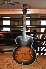 Vintage Harmony H1215 Archtop Guitar Luthier project