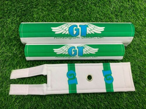 BMX G T PRO freesiyle tour performer Pad Re Made Sets frame handlebar stem green