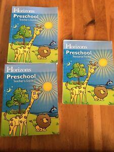 Horizons-Preschool-Teacher-s-Guide-1-2-pt-Resource-Packet-Student-Alpha-Omega-AO