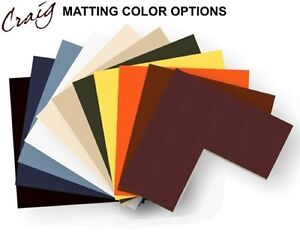 Craig Frames 20x27 Picture Frame Matting Cream Core Opening For