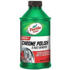 Turtle Wax CHROME POLISH RUST REMOVER Chrome Bumpers Wheels Trim Accessories HQ