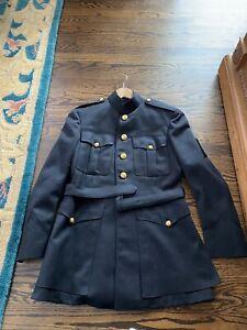 USMC Marine Corps Dress Blues Uniform. Period 1970's I Ask You To Be The Judge