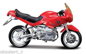 BMW-R1100RS-Rosso-Maisto-Moto-modello-1-18-NUOVO-conf-orig