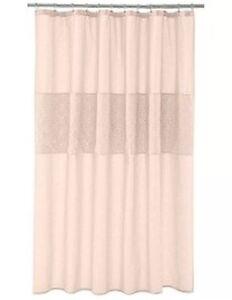 Image Is Loading Lauren Conrad Jolie Blush Pink Fabric Shower Curtain