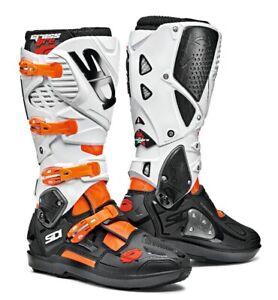 Sidi-Crossfire-3-srs-botas-motorista-naranja-negro-blanco-envio-gratis