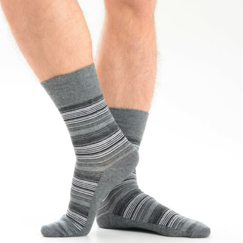 Chaussette Homme Douces grip boutique chaussettes non élastique cadeau de Noël Taille UK 6-11 12-14 lot