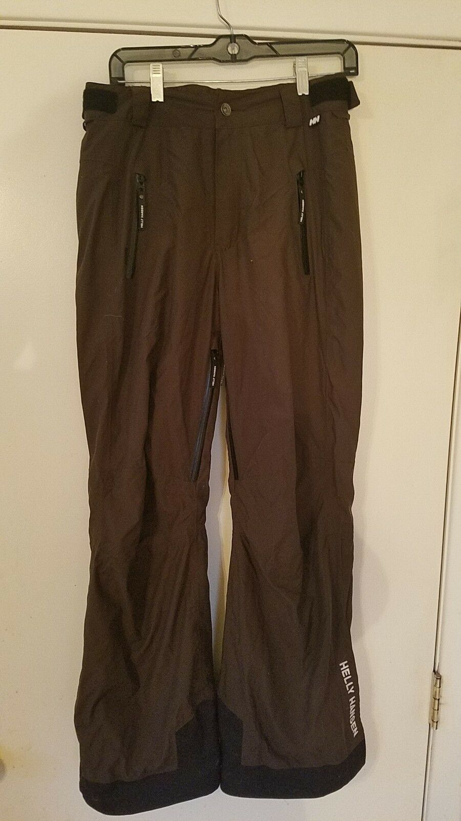 HELLY HANSEN HELLY BROWN SKI SNOW SNOWBOARD PANTS SIZE S P