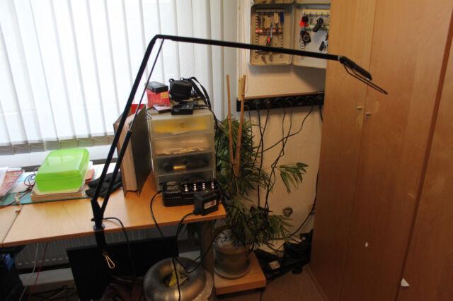 Belux - Lifto - Designerlampe - passend zu USM Haller - Schwarz - K640