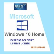 Rottami PC con autentico Windows 10 Home 32/64BIT OEM originale della licenza CHIAVE