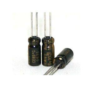 6 pcs Elna Silmic II capacitor 25v 4.7uf Audio Grade Premium