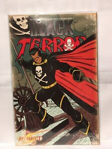 Black-Terror-2008-Series-1-1-10-Romita-Cover-NM-1st-Print-Dynamite-Comics