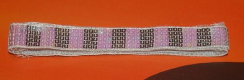 Pailletten band 5-reihig   Farbwahl 1-4 Meter Sequins lace 23-25 mm ab 0,79€//m