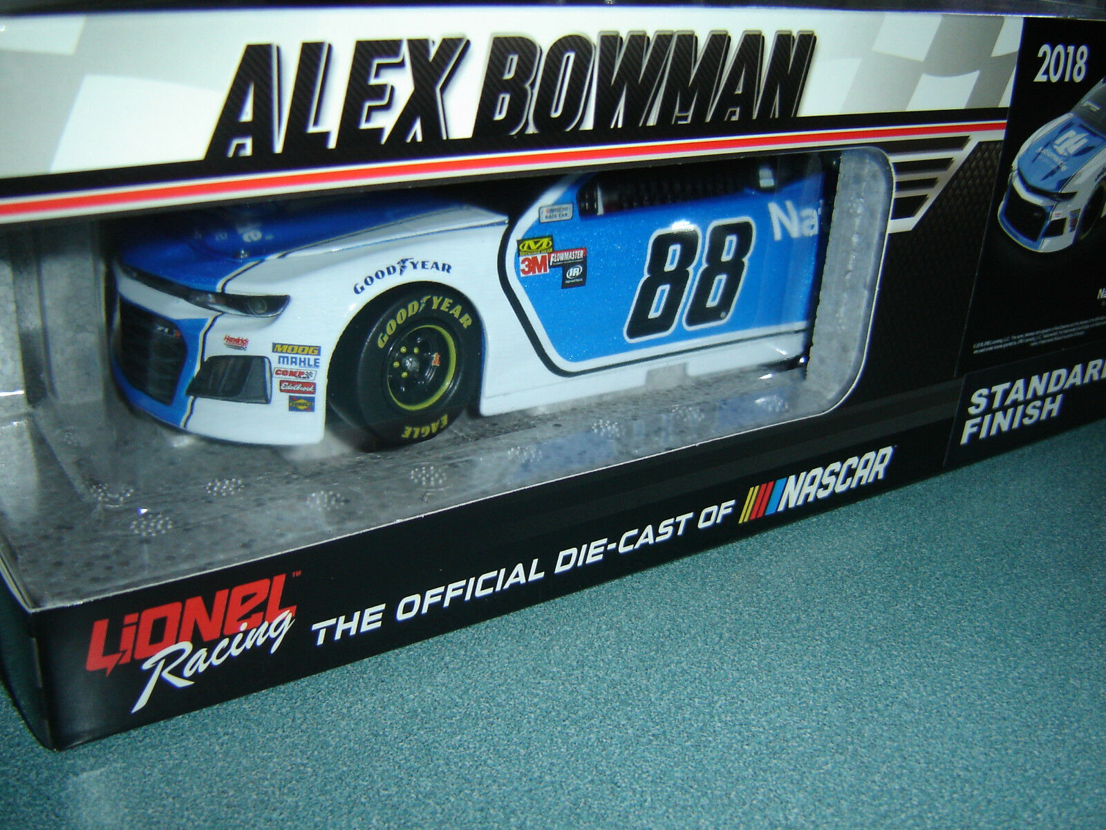 2018 Alex Bowman  88 88 88 Nationwide Camaro 1 24 Acción Nascar 1 Of 1388 en Stock 974638